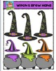 Witch's Brew Haha {P4 Clips Trioriginals Digital Clip Art}