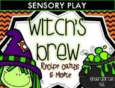 Witch's Brew Halloween Sensory Play
