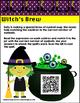 Witch's Brew Addition Center- Halloween Math Activity