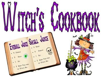 HALLOWEEN - Witch's Kitchen Center Printables