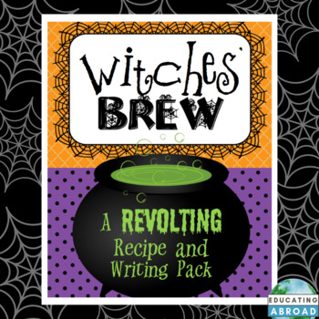 Witches' Brew: A Revolting Recipe and Writing Pack
