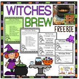 Witches Brew Activity l Parent Notes l Thank You Notes l Zip-Lock Bag Covers