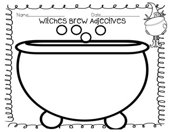Witches Brew Adjectives
