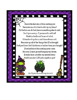 Witches Brew: An Editable Halloween activity
