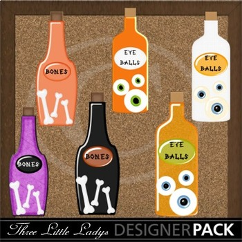 Witches Brew Bottles