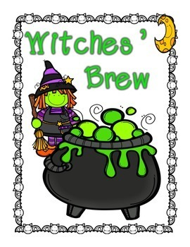 Witches' Brew {CVC Real & Nonsense Words}