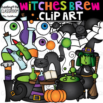Witches Brew Clip Art {Halloween Clip Art}