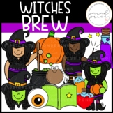 Witches Brew Clipart Pack