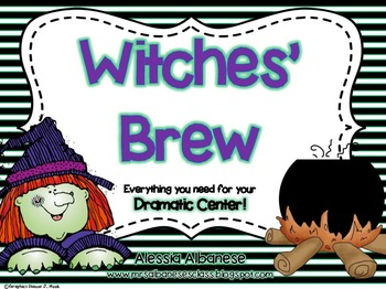 Witches' Brew Dramatic Play Center