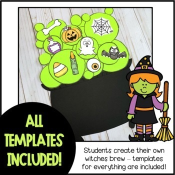 Witches Brew Halloween Writing Craftivity