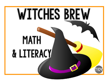 Witches Brew Math & Literacy Craftivity
