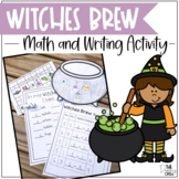 Witches Brew Math and Writing Activity