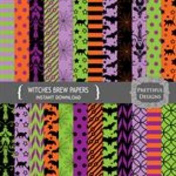 Witches Brew Paper Pack