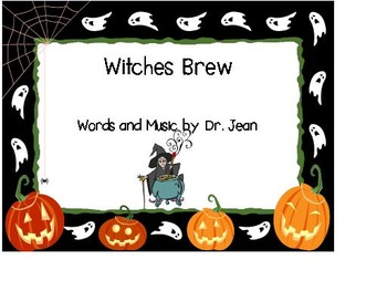 Witch's Brew Song & Worksheets | Teachers Pay Teachers