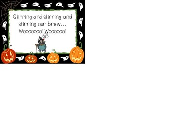 Witches Brew Powerpoint to go with Dr. Jean's song
