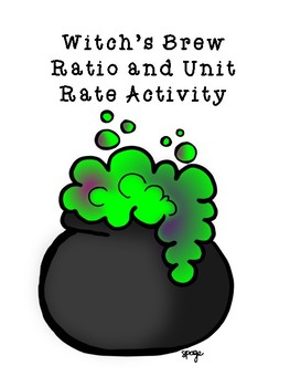 Witches' Brew Ratios and Unit Rates