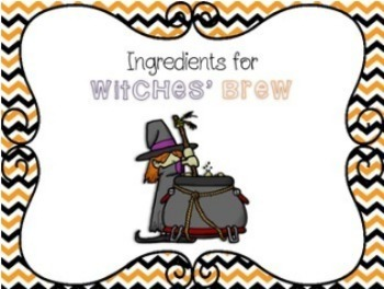 Witches' Brew Rhythm Composition Activity