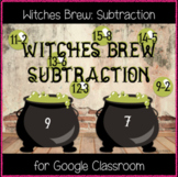 Witches Brew: Subtraction (Great for Google Classroom!)
