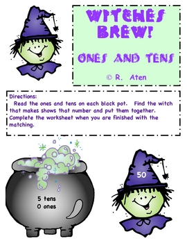 Witches Brew- Tens and Ones