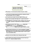 Witches Curse Video Worksheet