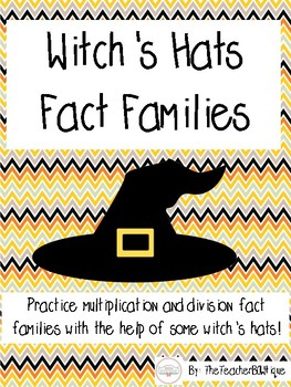 Witches' Hats Fact Families