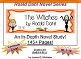Witches Novel Study Roald Dahl 215+ Pages of Common Core Materials
