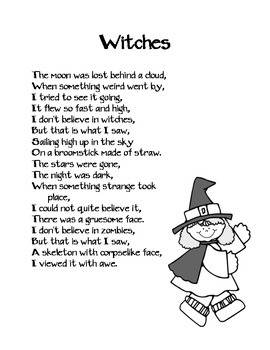 Witches Poem
