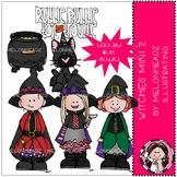 Witches clip art - Mini - Set 2 - Melonheadz Clipart