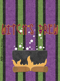 Witch's Brew - Halloween Reinforcement Card Game