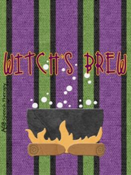 Witch's Brew - Halloween Reinforcement Card Game