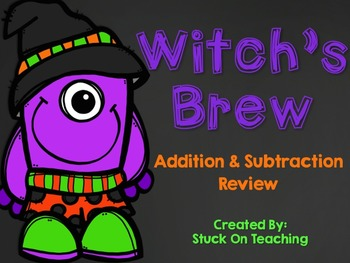 Witch's Brew (Addition and Subtraction Review)