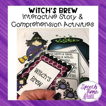 Witch's Brew Interactive Story and Comprehension Activities