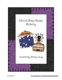 Witch's Brew Recipe Activity