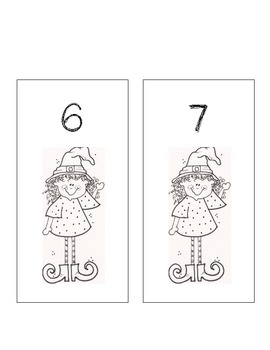 Witch's Brew: Subtraction Problems 0--10