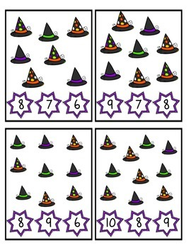 Witchy Counting Clips 1-10