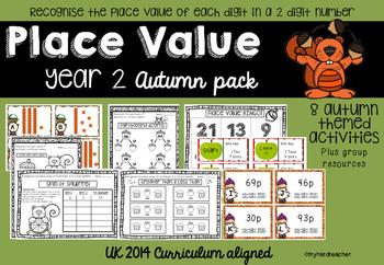 Place Value Autumn Pack UK Curriculum 2014