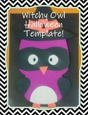 Witchy Owl Craft Template