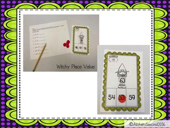 Witchy Place Value Game