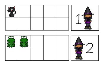 Witchy Ten Frames