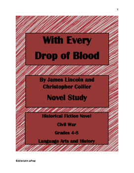 With Every Drop of Blood by Collier Book Study
