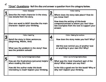 Within, About, Beyond Fiction/Nonfiction Questioning Game