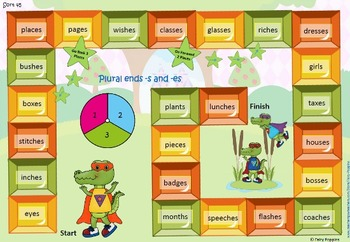 Within Word Pattern Games & Worksheets (Unit 9) - Plural & Past Tense