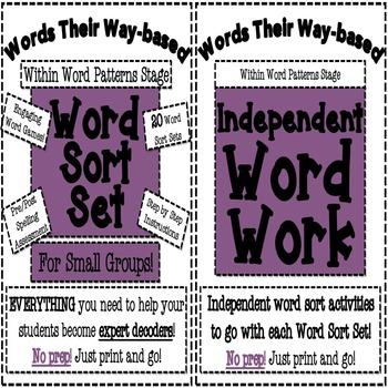 Within Word Patterns Bundle