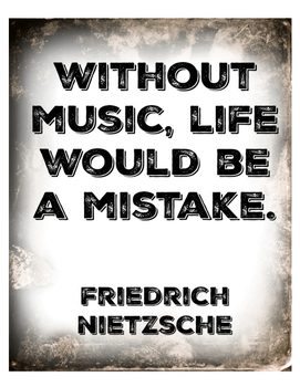 Without Music (Poster)
