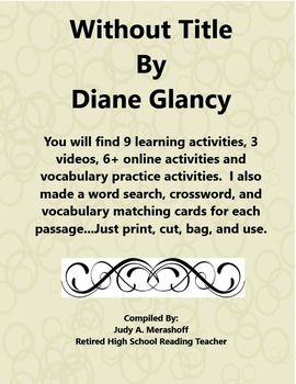 Without Title by Diane Glancy