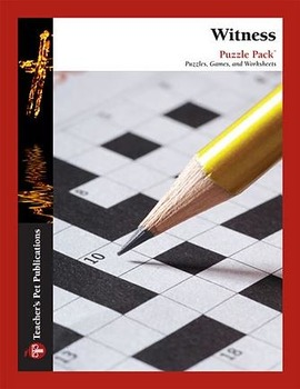 Witness: Puzzle Pack - Crosswords, Word Searches, Worksheets, Games