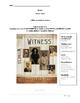 Witness by Karen HESSE STUDENT study guide workbook