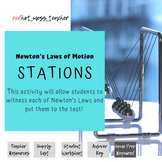 Witnessing Newton's Laws Stations