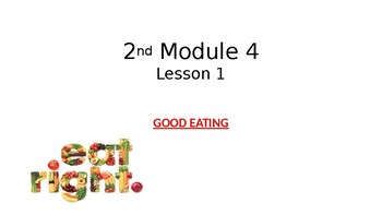Witt and Wisdom 2nd Module 4 Lesson 1