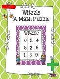 Witzzle- A Math Puzzle